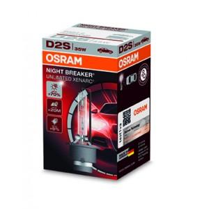 Osram Xenarc D2s Nightbreaker Unlimited +70% 44.95 €